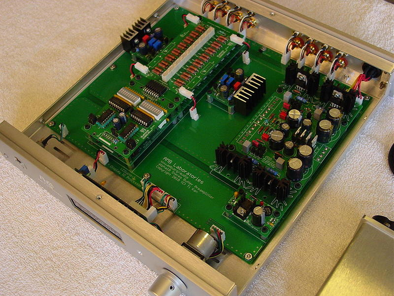 The α10 Stereo Pre-amplifier