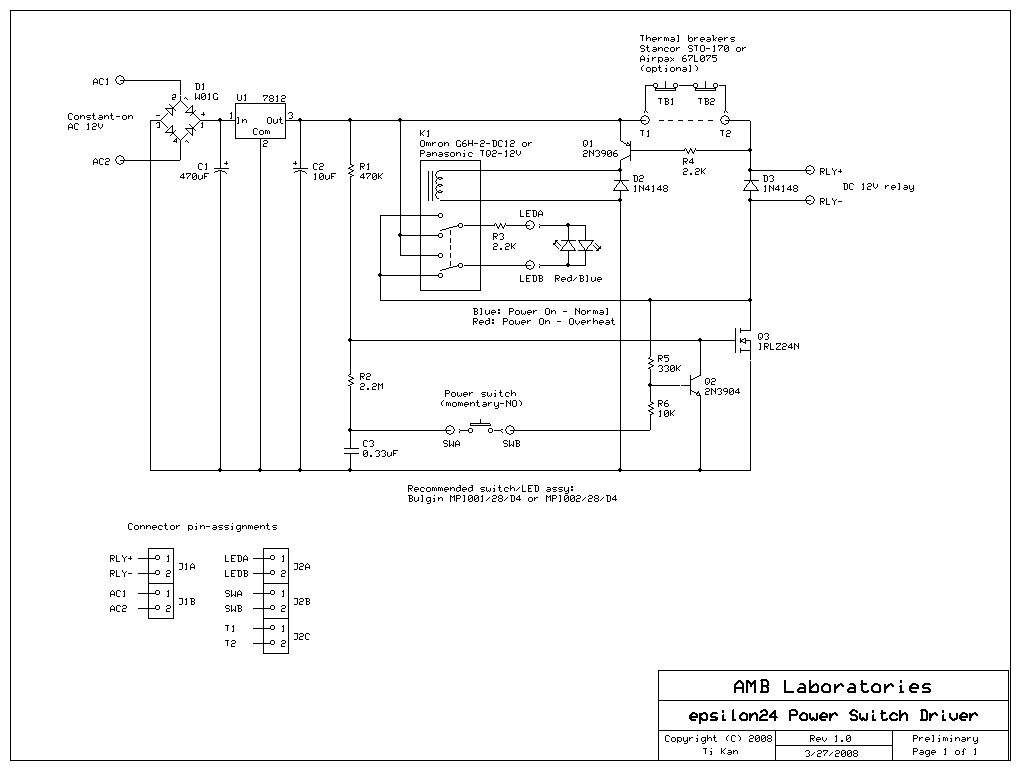 The ε24 power switch driver circuit