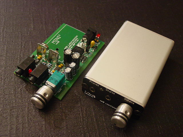 The Mini³ portable stereo headphone amplifier