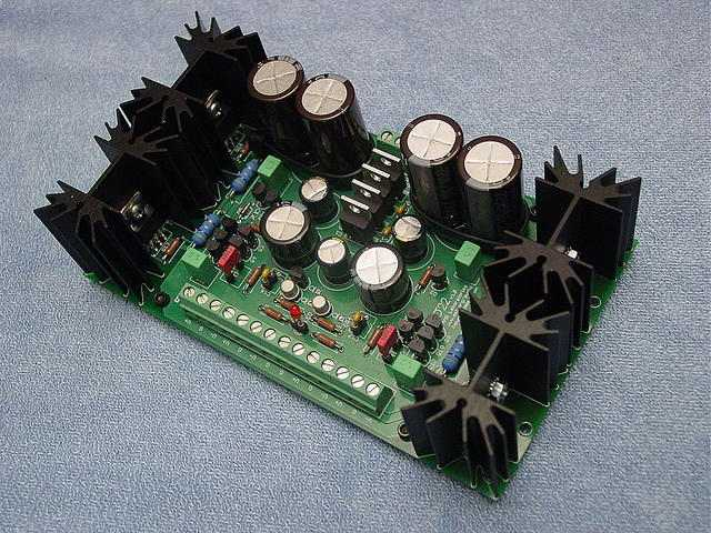 The σ22 regulated power supply