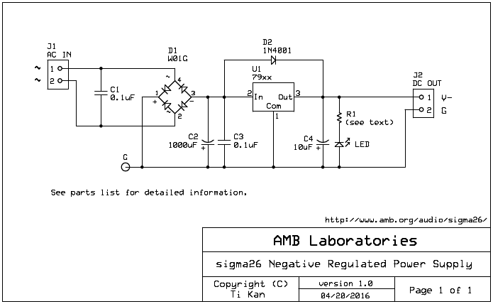 the σ26 negative regulated power supply